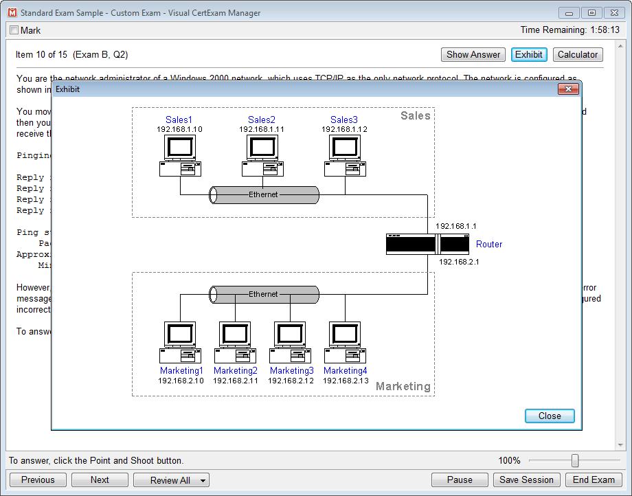 visual certexam designer free download