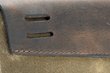 Outback Solo for MacBook Air—back of flap detail; strap attachment system