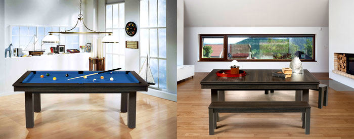 New Rene Pierre Delta Combination Pool Dining Tablethe Table Shown In Both And Formats
