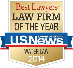 "U.S. News – Best Lawyers® Water Law ""Law Firm of the Year"""