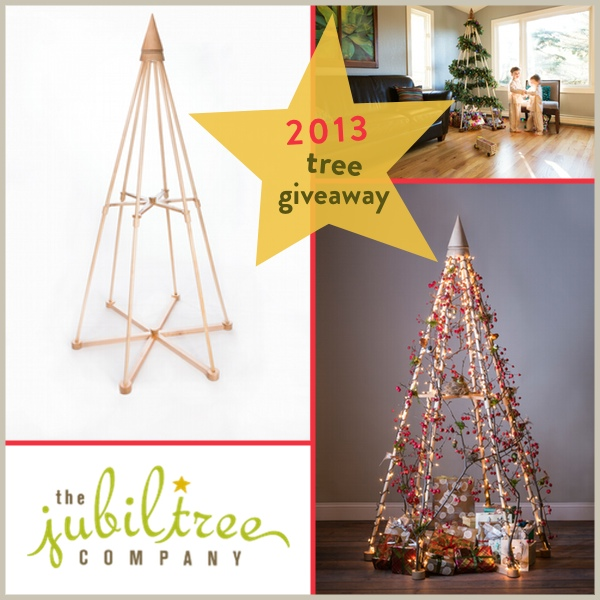 Jubiltree Co. Announces Start Of Wood Christmas Tree Giveaway