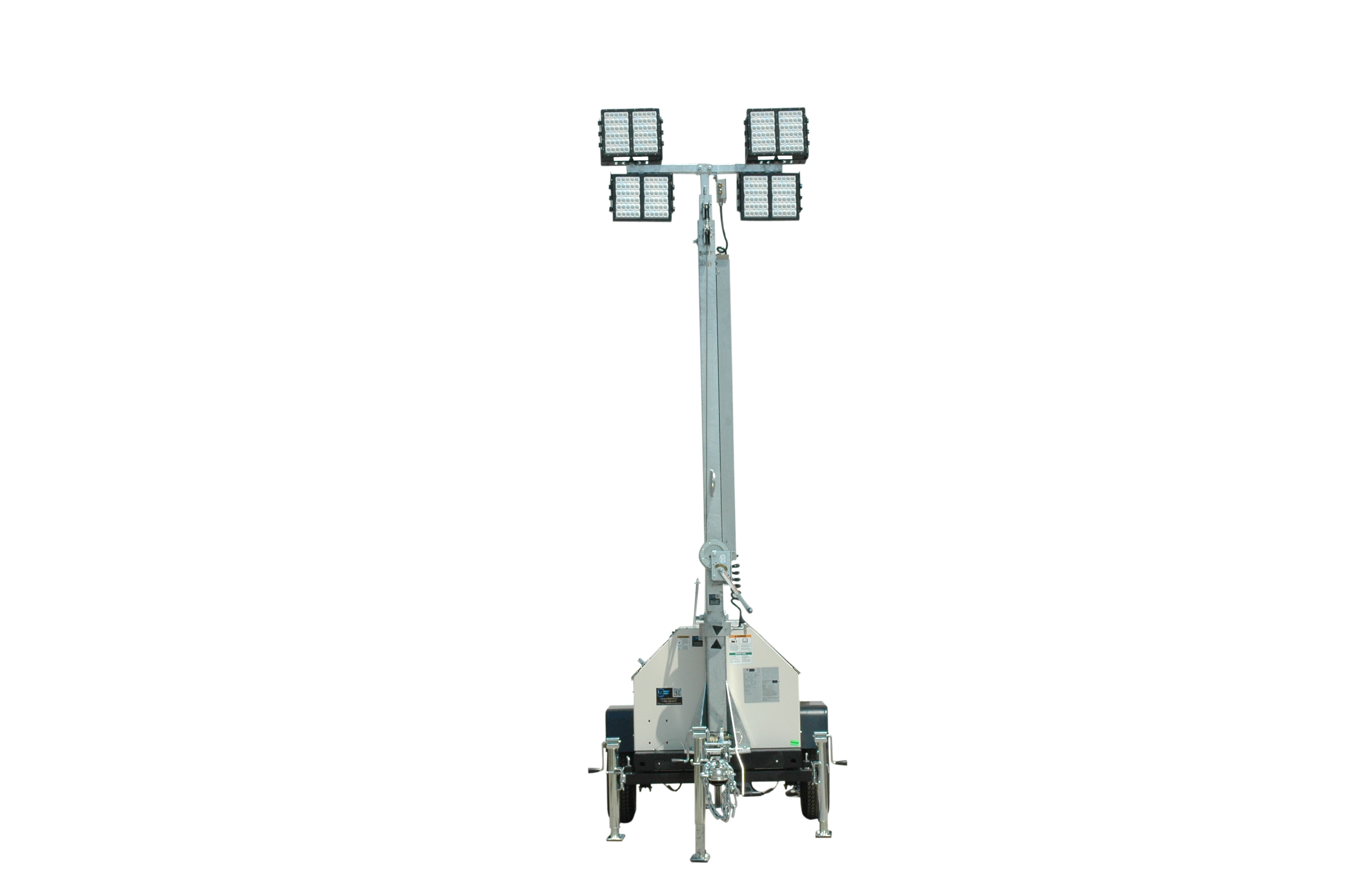 Mobile Led Light Tower With Diesel Generator Released By