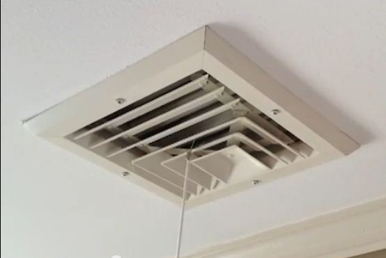 Air Cond Ventilator : Prepare your home for winter by sealing drafty central air