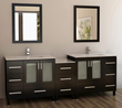 "Design Element Galatian 88"" Double Sink Bathroom Vanity Set (DEC360-DS)"