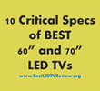 10 Specs of the Ideal LED TV