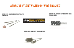 Nylon Abrasive Tube Brushes from BRM