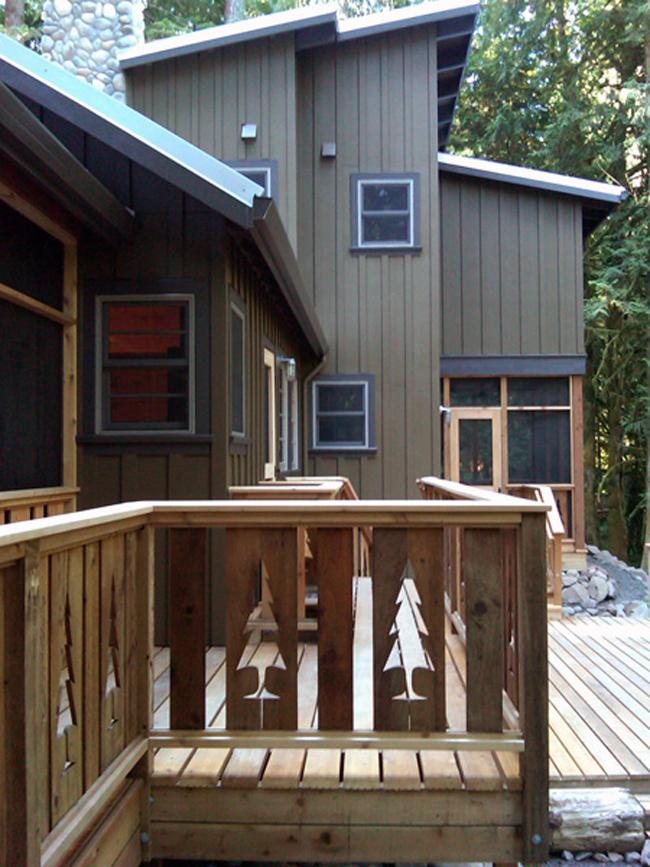 Rustic Cabin Designed By Giulietti Schouten Architects