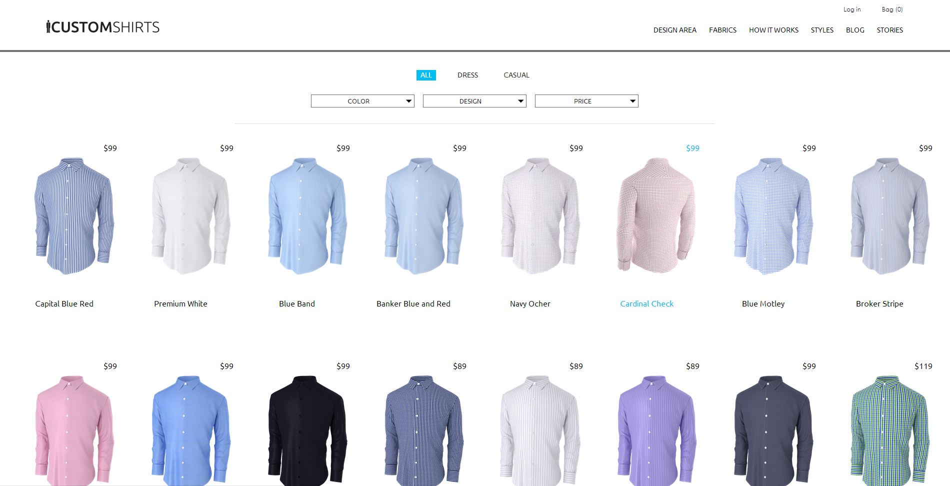 Icustomshirts Com Introduces A New And Improved Styles Section To Streamline Its Dress Shirt Customization Process