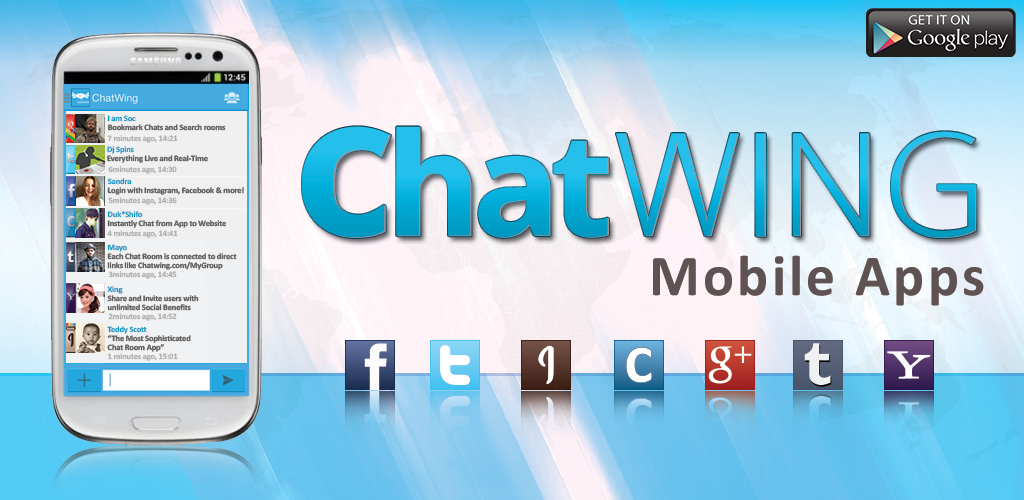 android mobile chat rooms