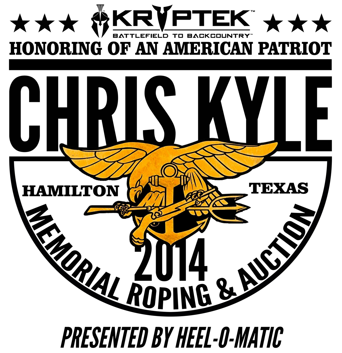 The First Annual Chris Kyle Memorial Roping And Auction Continues