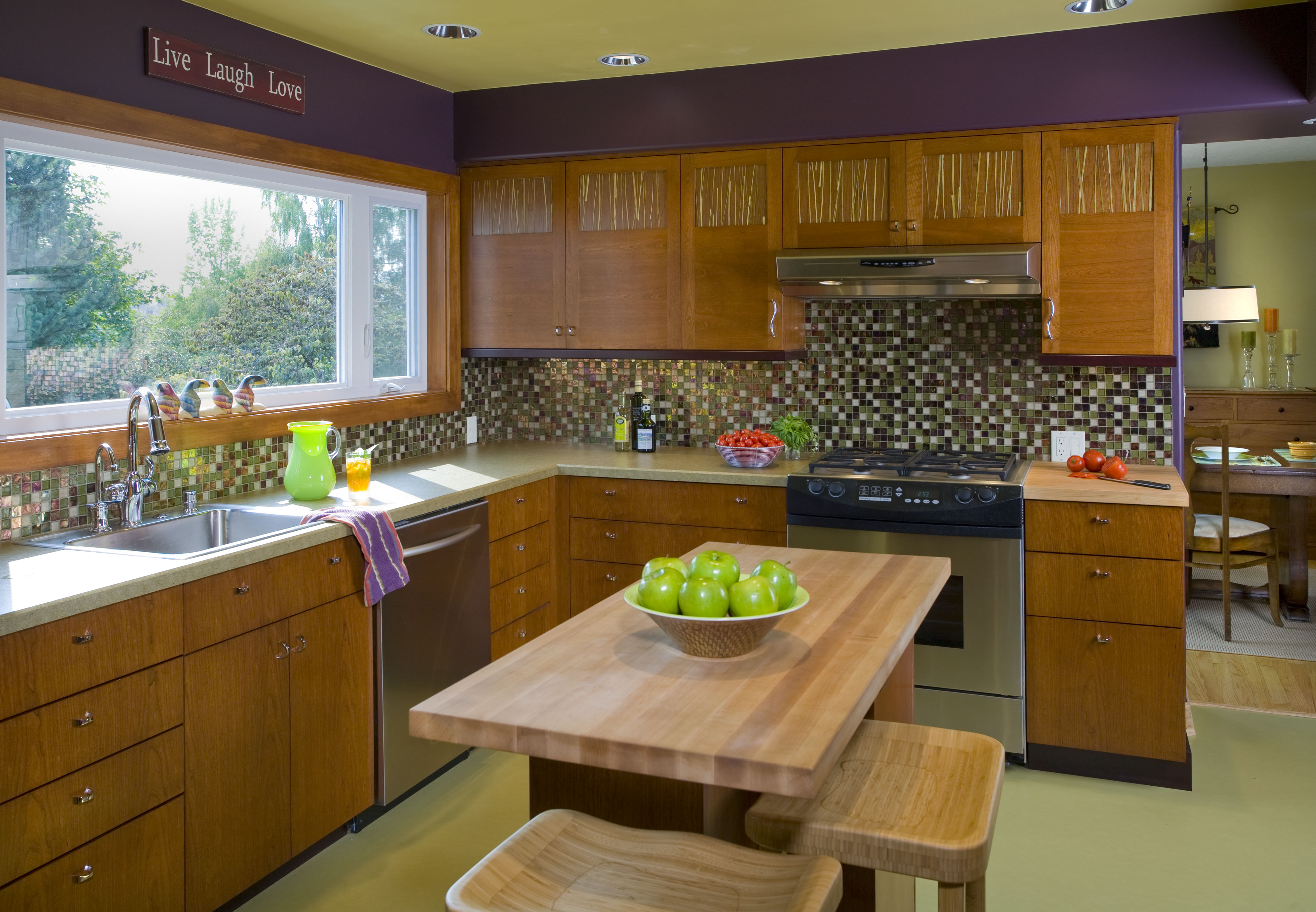 Beau Neil Kelly Cabinets Installation ShotUpper Cabinets Transitions Line And  Lower Cabinets Signature Line
