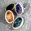 recycled glass rings