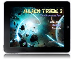 Alien Tribe 2 - 4X RTS Space Game for the iPad