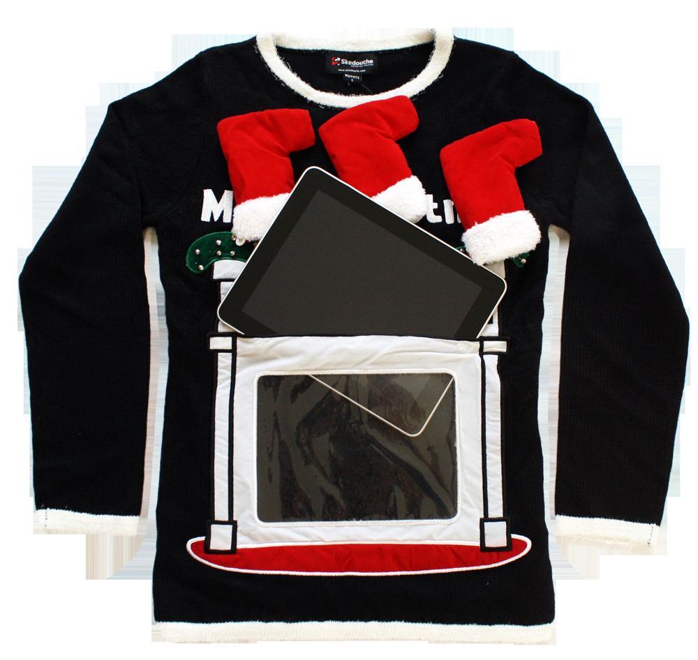Jimmy Fallon Selects Newest Skedouche High-Tech Fireplace Sweater as ...