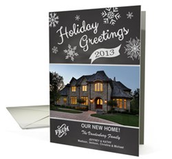 Greeting card universe goes home for the holidays new address holiday greetings weve moved cards m4hsunfo