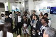 International Visitors Make New Contacts During Exhibition