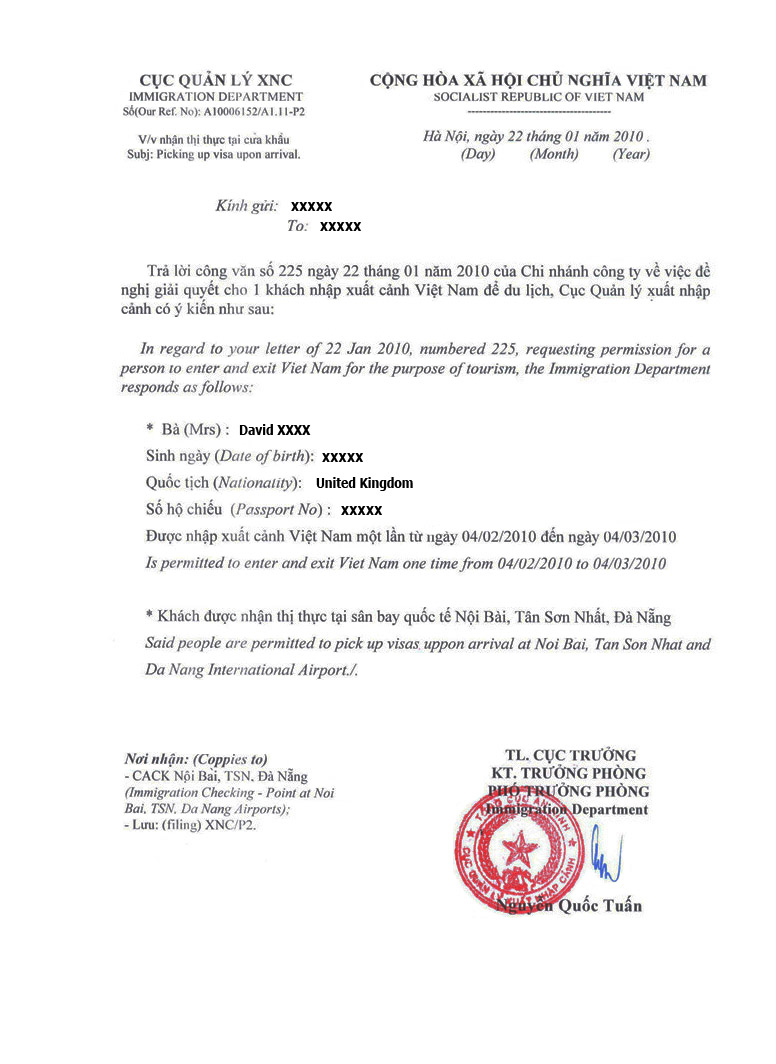 Vietnamsvisa now offers worldwide travelers a special visa on approval letterapproval letter thecheapjerseys Gallery