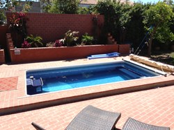 Endless Pool, compact pool, lap pool, swimming, indoor pool, water exercise, backyard pool, fitness, cycling