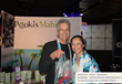 "Actor Anthony ""Tony"" Denison & Pooki's Mahi's CEO, Les Magsalay-Zeller at the 65th Emmys Celebrity Gift Suite"