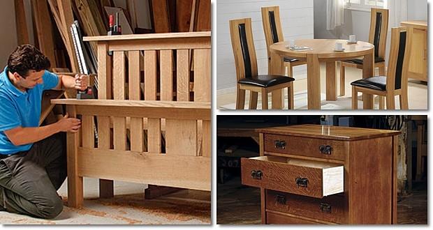 handmade wood furniture ideas