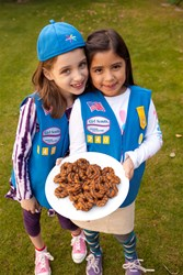 Girl Scout Daisies with Samoas