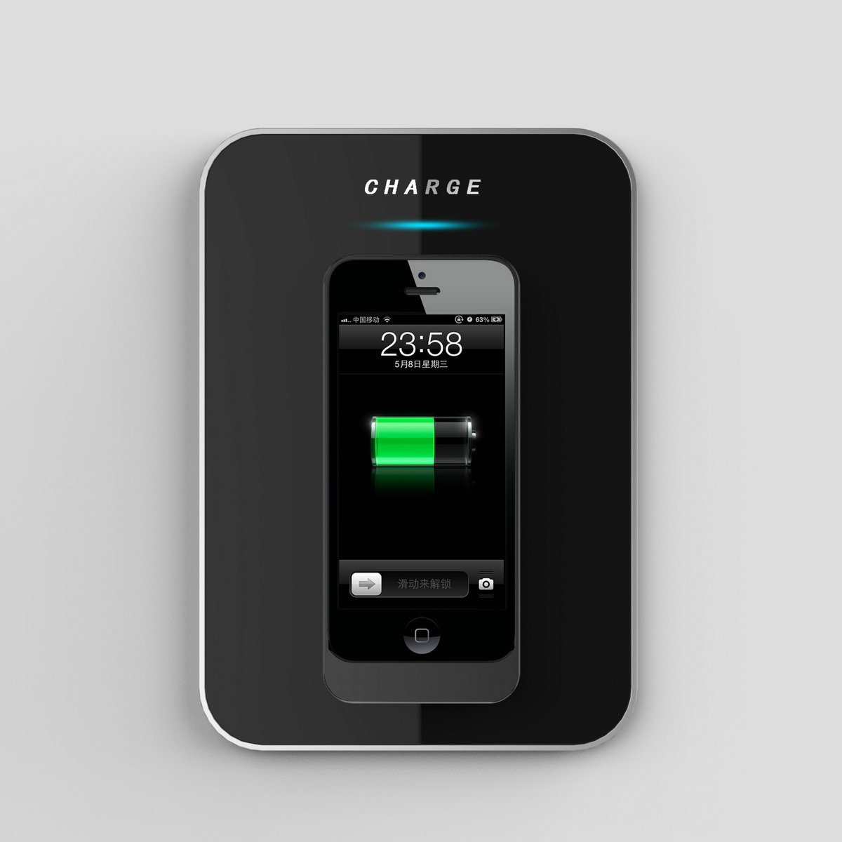 charging case for iphone 5c esorun announces to release the wireless charging 2216