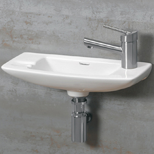 Wall Mount Sinks Small Bathrooms
