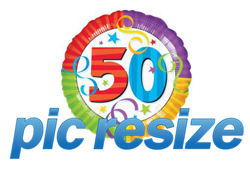 PicResize.com reaches the 50 million pictures resized milestone.