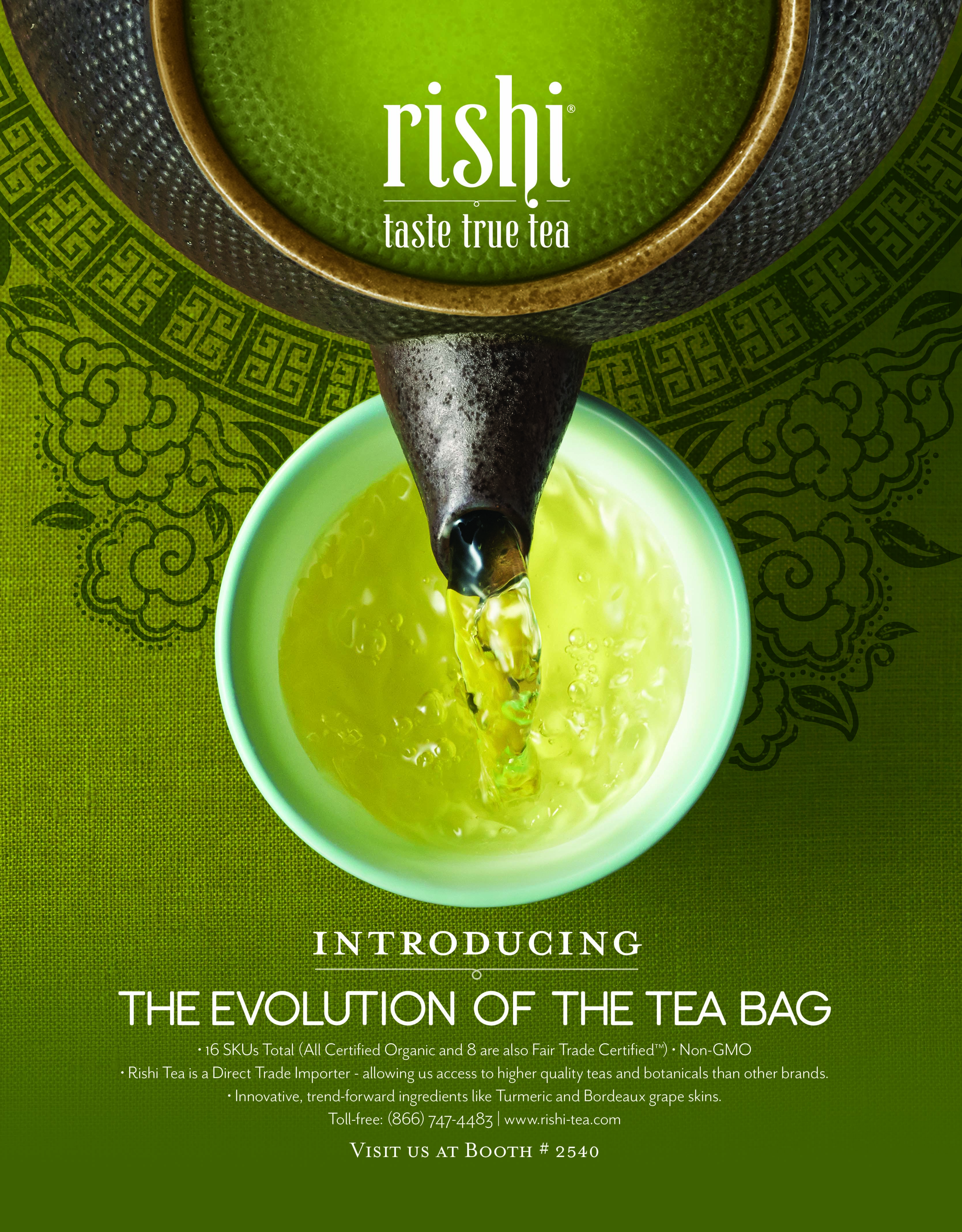 A New Line Of Tea Bags From Rishi Will Raise The Bar For Organic Epicurean Caliber Bag
