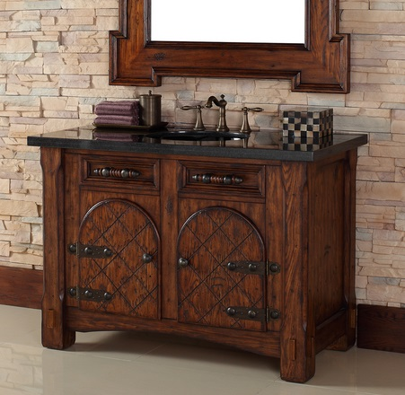 Homethangs Com Has Introduced A Guide To Mediterranean Style Bathroom Vanities
