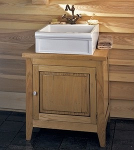 Homethangs Com Has Introduced A Guide To Using Light Wood Bathroom Vanities In A Cottage Style