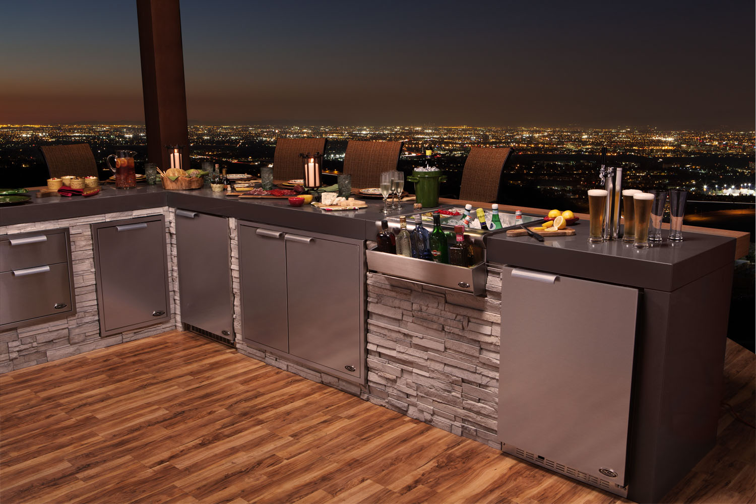 outdoor kitchen storage solutions dcs by fisher amp paykel sets stage for quot out is the new in 3874