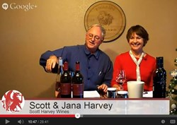Jana and Scott Harvey inaugurate Scott Harvey TV