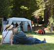 Festival-Goers enjoying Live Music