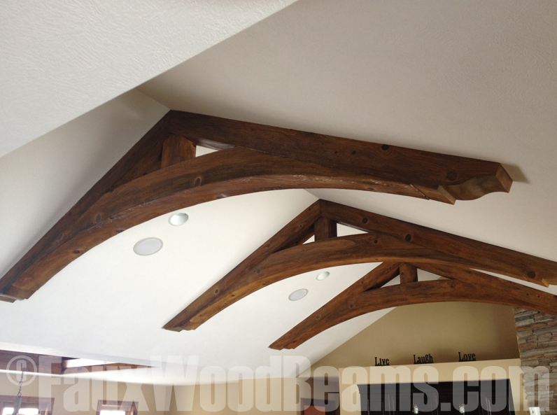 New Arched Beam Styles Added To FauxWoodBeams.com
