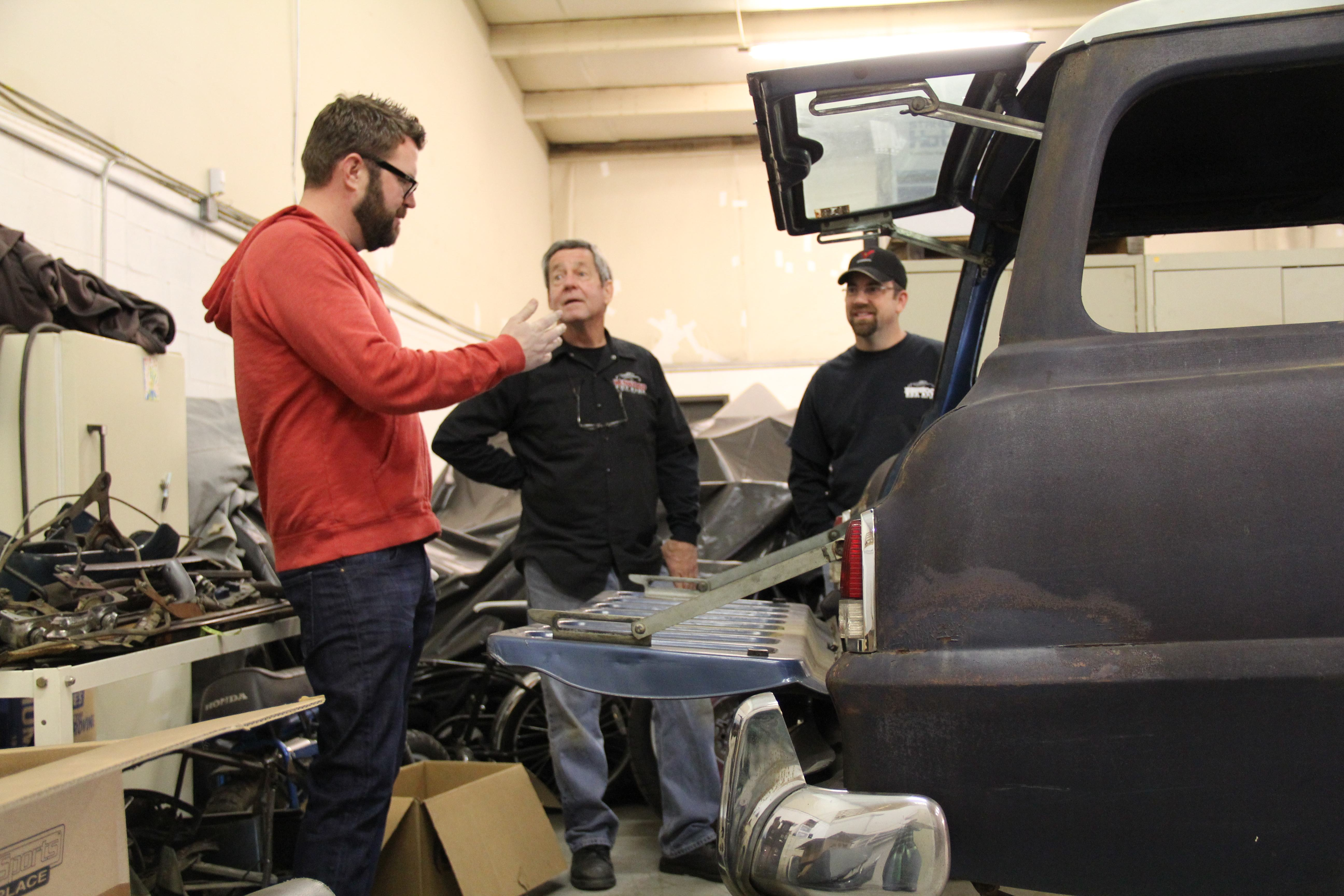 Progress Continues On The Summit Racing Rutledge Wood 1953 Plymouth 1949 Chevy Step Van And Randy Allgood Discuss Plans For Rutledges Suburban Project