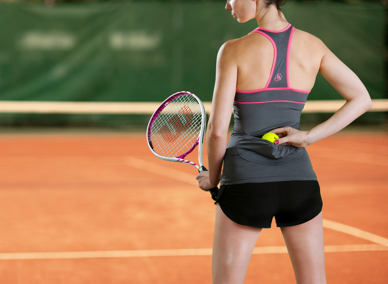 Womens Tennis Apparel - First Ever Patented Tennis Tank ...