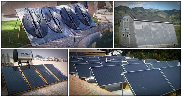 diy solar water heater review