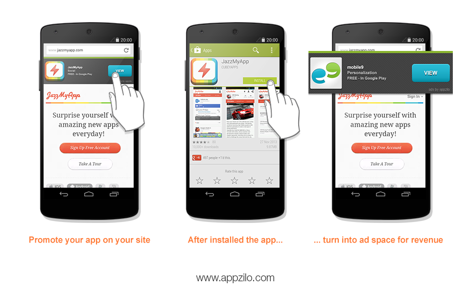 Appzilo com Helps Advertisers Promote Apps with Smart App Banner
