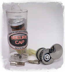 Secure Oil Cap Locking Oil Cap