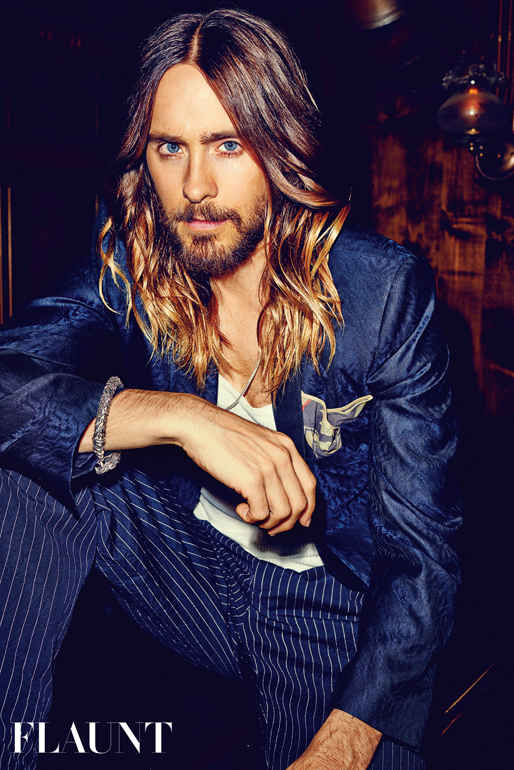 Jared Leto Is Sexy Wearing William Henry On The Cover Of