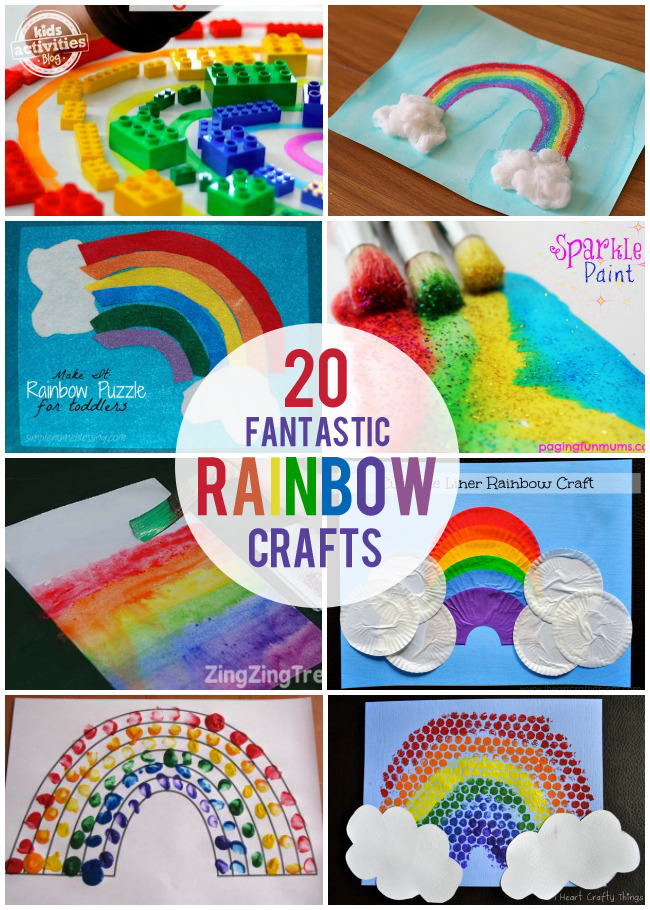 rainbow art and craft st s day crafts been published on 5308