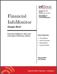 Financial Intelligence InfoMonitor