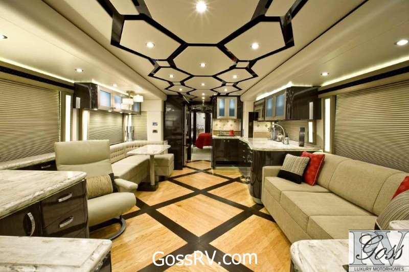 Goss Rv Introduces Video Motorhome Showcase And Luxury