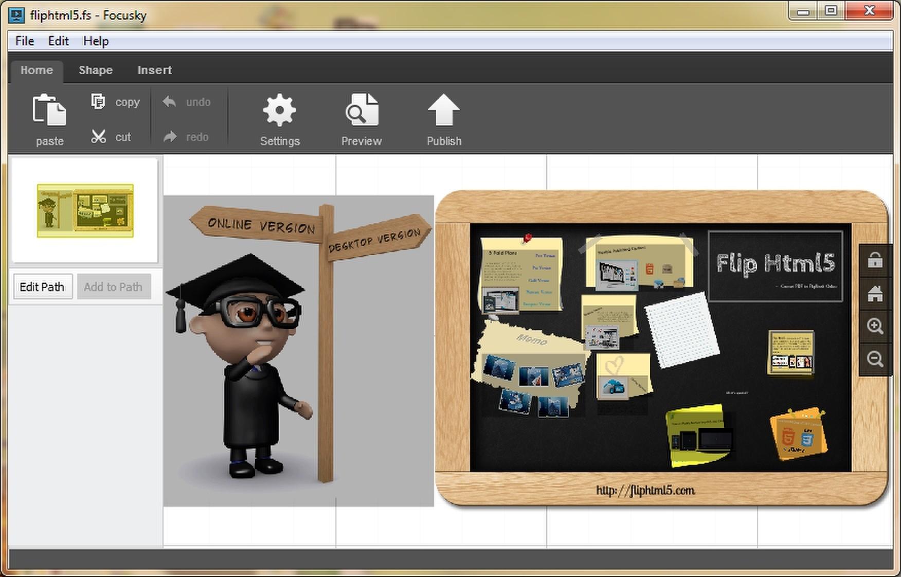 focusky com released creative presentation maker for educators
