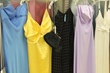 Thrift Town has racks of affordable and fashionable prom attire.