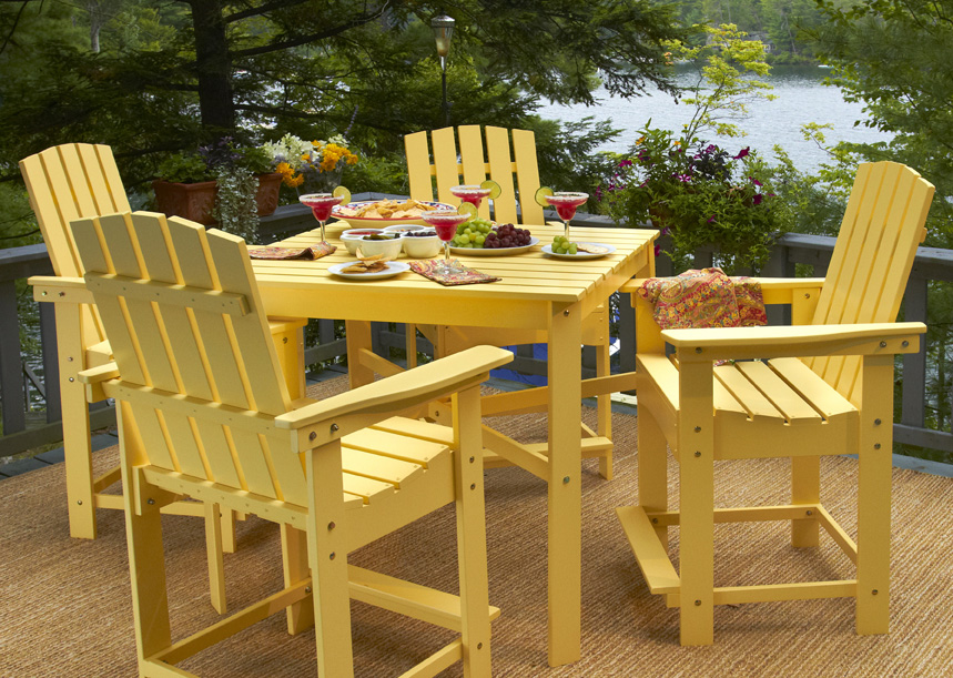 Manchester Wood Updates Adirondack Furniture New Chairs And Dining Tables For Spring 2017
