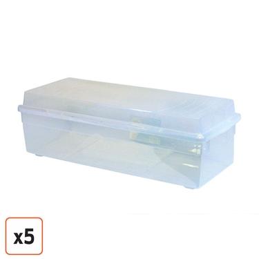 IRIS Storage Box, Set Of 5, ...