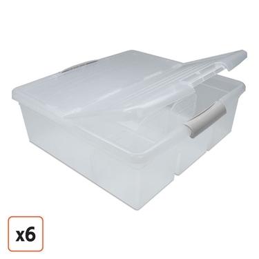 Genial IRIS Storage Box, Set Of 6, ...