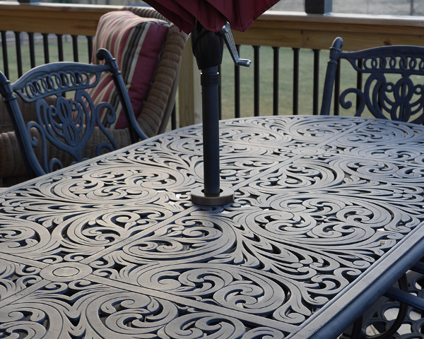 Simply Adjust The Tri Lock Insert To Size Of Table Through Hole Into And Umbrella That S It